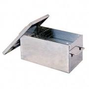 Коптильня домашняя «Классик экстра» 350×200×200 мм, толщина 3 мм, сталь 430